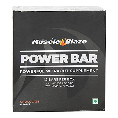 Muscle Blaze - Protein Power Bar - Chocolate 12bars