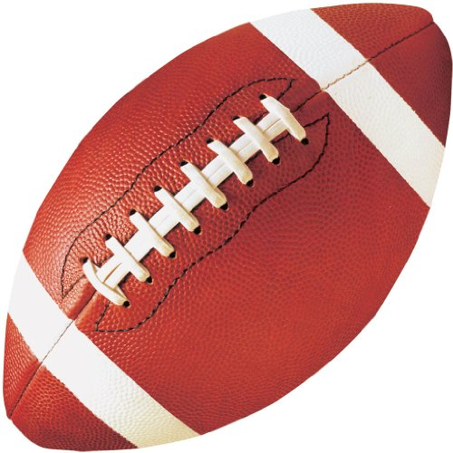 Football Cutouts Assorted 3 3/4in