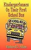 Kindergarteners On Their First School Bus