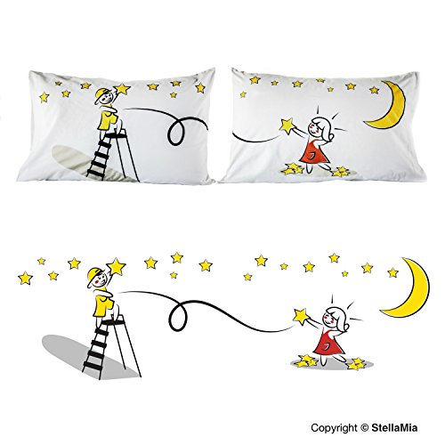 Couple's Pillowcase Set - StellaMia