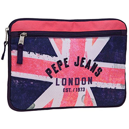 Pepe Jeans Custodia Tablet, Bandiera, Rosa
