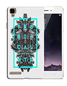 PrintFunny Designer Printed Case For Oppo F1