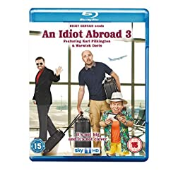Idiot Abroad: Series 3 [Blu-ray]