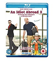 An Idiot Abroad - Series 3 [Blu-ray]