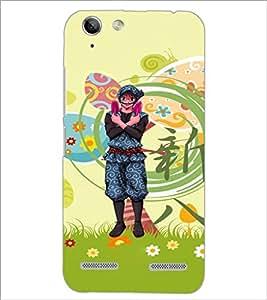 PrintDhaba Cartoon D-4615 Back Case Cover for LENOVO VIBE K5 (Multi-Coloured)