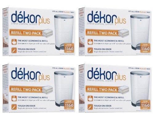 Diaper dekor plus refills 8 count my home for Dekor plus diaper pail refills