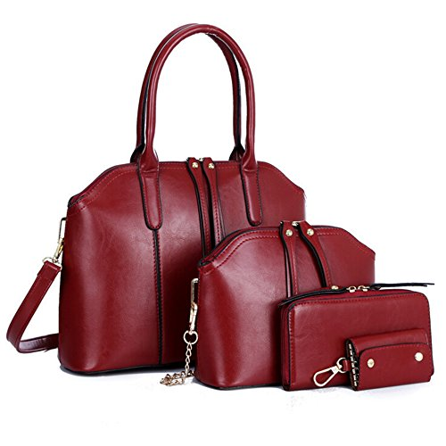 byd-women-female-handbag-set-4-in-1-set-pure-color-high-quality-pu-leather-mutil-function-with-1-pur