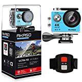 AKASO-EK7000-4K-WIFI-Sports-Action-Camera-Ultra-HD-Waterproof-DV-Camcorder-12MP-170-Degree-Wide-Angle-2-inch-LCD-Screen24G-Remote-Control2-Rechargeable-Batteries19-Mounting-Kits-Blue