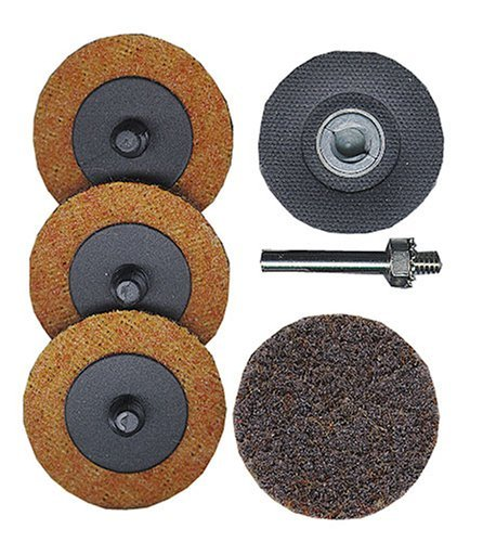 Astro 2SPK Surface Prep Kit 2-Inch, Roll Lock Holder with 4 Pads. (1 4 Die Grinder Sander compare prices)