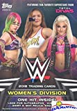 2018 Topps WWE Women's Division EXCLUSIVE Factory Sealed Retail Box with HIT of either Autograph, Kiss Card, Relic & More! Look for Autographs,Kiss Cards & Relics of Top WWE Female Superstars! WOWZZER