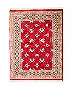 QURAMA Alfombra Kashmir Rojo/Beige 132 x 95 cm