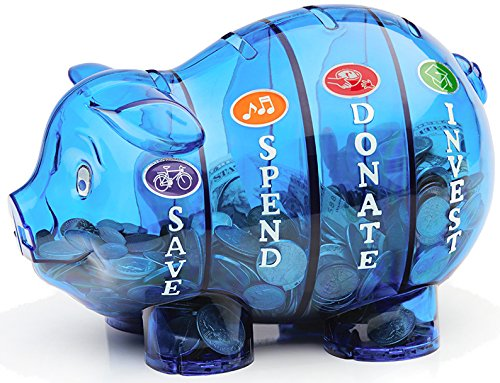 Perfect children money banks for today 39 s kids for Piggy bank for toddlers