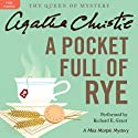 A Pocket Full of Rye: A Miss Marple Mystery Audiobook by Agatha Christie Narrated by Richard E. Grant