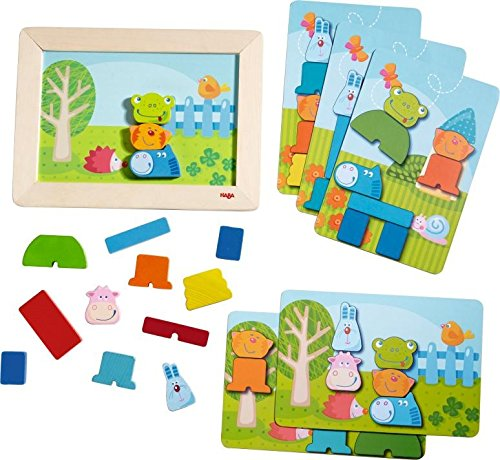 HABA Zoolino Magnetic Arranging Game