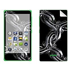Skintice Designer Mobile Skin Sticker for Nokia XL, Design - Chained