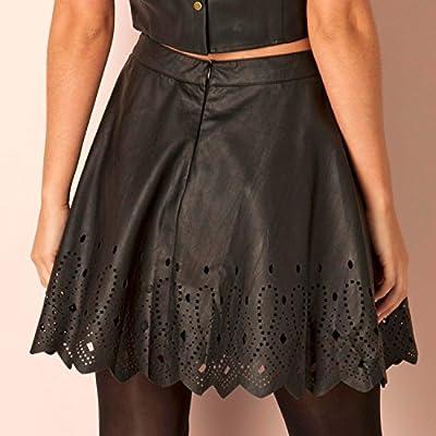 Glamorous Women's Laser Cut Skater Skirt from Glamorous