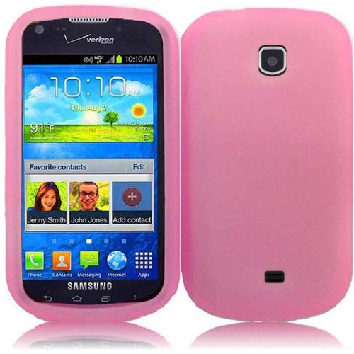 Cell Accessories For Less (Tm) For Samsung Galaxy Stellar I200 / Legend Silicone Skin Cover Case - Baby Pink - By Thetargetbuys *Free Shipping* front-885292