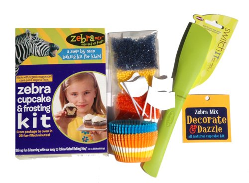 Buy Zebra Mix Decorate And Dazzle Cupcake Kit (Zebra Mix, Health & Personal Care, Products, Food & Snacks, Baking Supplies, Baking Mixes)