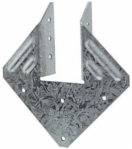 100 Pack Simpson Strong Tie H1z Hurricane Tie Z-Max H1z-West Triple Zinc Coated Contruction Hardware