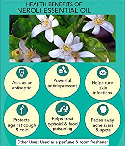 Ambrosial Fragrances of Heaven Ambrosial Neroli Essential Oil 100% Natural Organic Uncut Undiluted