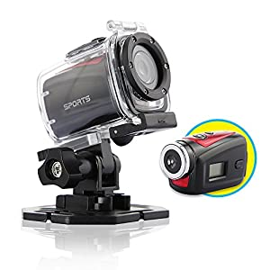 MINI HD 720P 1.3MP Waterproof Outdoor Sport Action Helmet Car DVR Camera Camcorder DVR Dv For Driving Sport Outdoor