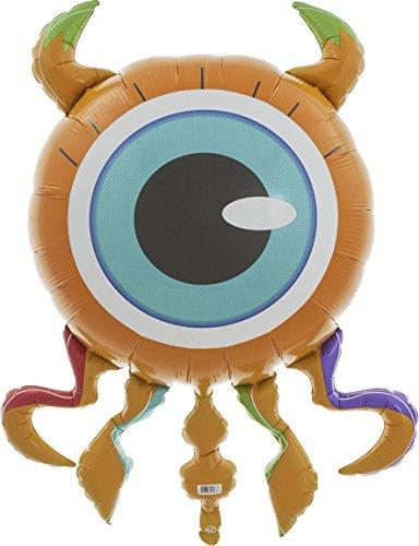 Eyeball Monster Helium Foil Balloon - 38 inch