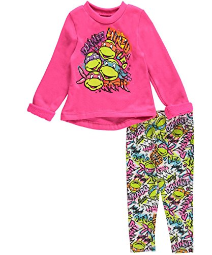 "TMNT Baby Girls' ""Nicknames"" 2-Piece Outfit"