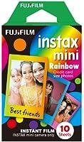 Fujifilm Instax Mini Rainbow Film (Pack of 10)