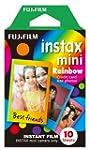 Fujifilm Instax Mini Rainbow Film, 10...