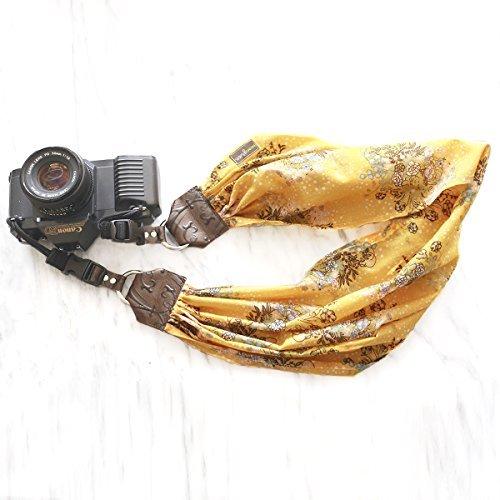 Mimi Green 'Honey' Scarf DSLR Camera Strap