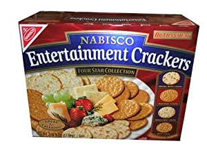 Nabisco Entertainment Crackers Four Star Collection 2 Pound 8 Ounce Box