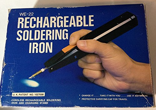 Cordless Rechargeable Soldering Iron And Charging Stand - We-22 front-40365