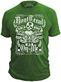 "Don't Tread On Me T-Shirt ""Lucky Clover"" St Patricks Day Shirt (LARGE)"