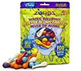 ZORBZ Self-Sealing Water Balloons 100 Count
