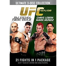 UFC 137 &amp; 138: Penn vs. Diaz and Leben vs. Munoz
