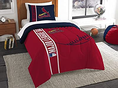 Saint Louis Cardinals St. Comforter and Sham Bed Set