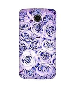 Violet Rose Motorola Nexus 6 Case