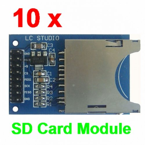 Sd card slot on desktop computer