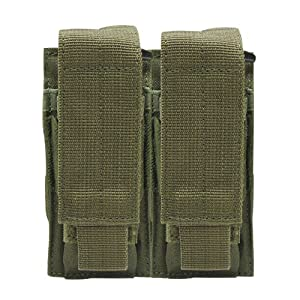 Condor Tactical Double Pistol Mag Pouch - Olive Drab