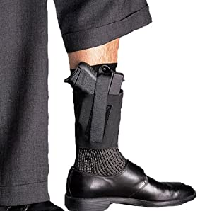 .com : Galco Cop Ankle Band for Ruger LCP, Kel Tec P3AT, P32, Sig