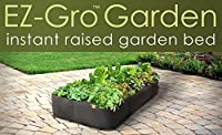 VICTORY 8 EZ-Gro Garden Large Square Instant Fabric Raised Garden Bed