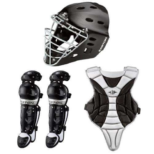 Easton Black Magic Catcher Box Set, Black, Youth (Catcher Gear compare prices)