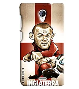 Omnam Inglaterra Printed With Designer Back Cover Case For Micromax Unite 2 A106