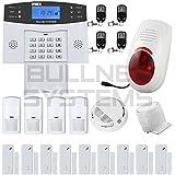 Alarme Maison Sans Fil Téléphonique GSM Anti Intrusion Fonction Temporisation