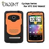 日本初上陸! 高耐衝撃性+防塵機能 Trident Case Cyclops for HTC EVO WiMAX Orange トライデントケース サイクロプス オレンジ au ISW11HT ケース