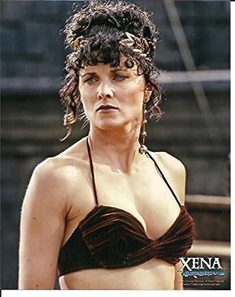 Xena Warrior Princess Lucy Lawless Photo in bikini top at Amazon's