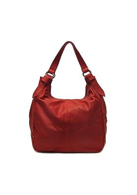 Red Hobo Shoulder Bag 28