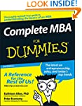 Complete MBA For Dummies�
