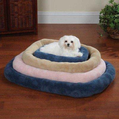 Slumber Pet Comfy Crate Pet Bed, X-Small, Pink front-603349