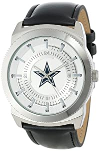 Game Time Mens NFL-VIN-DAL Vintage NFL Series Dallas Cowboys 3-Hand Analog Watch by Game Time